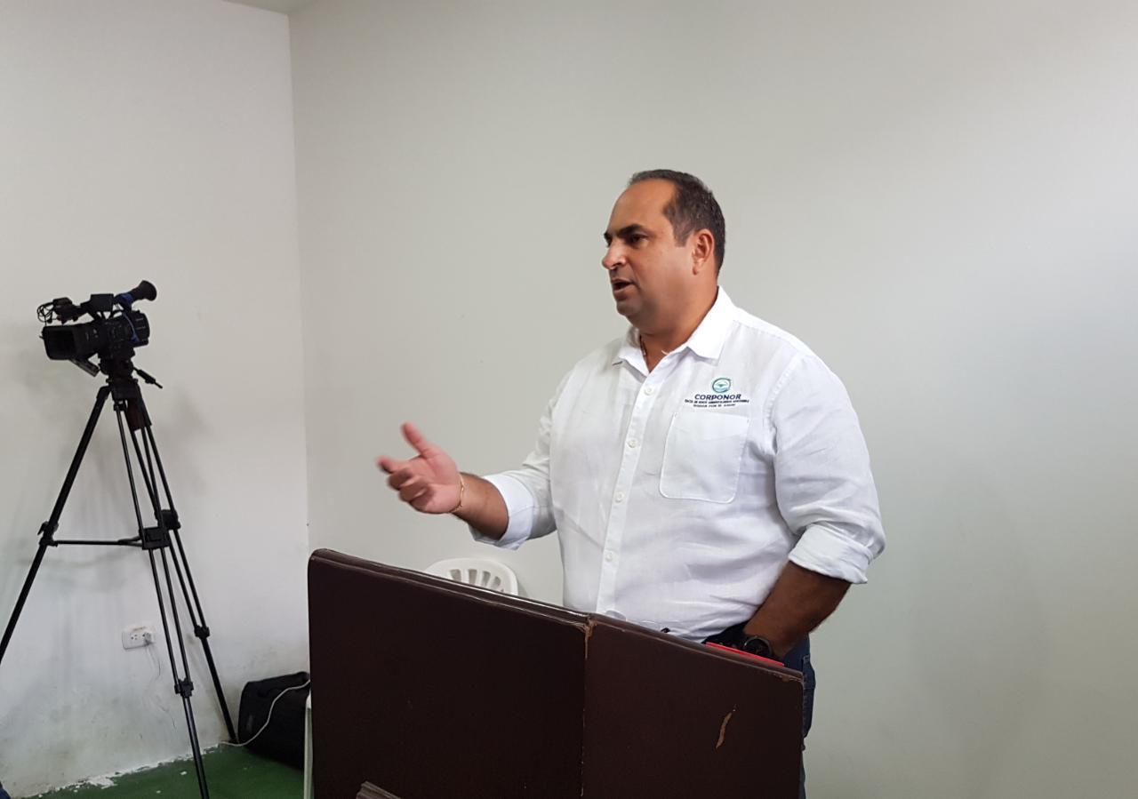 Director de CORPONOR dialogó con los usuarios y presidentes de los distritos de riego de la provincia de Pamplona